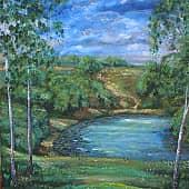 Ока, художник Konstantin