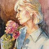 Когда хорошо вдвоём, художник Елена Свирина