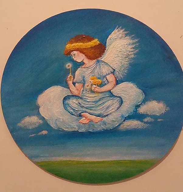 Весенний ангел.