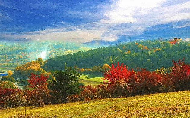 Осенние пейзажи-6