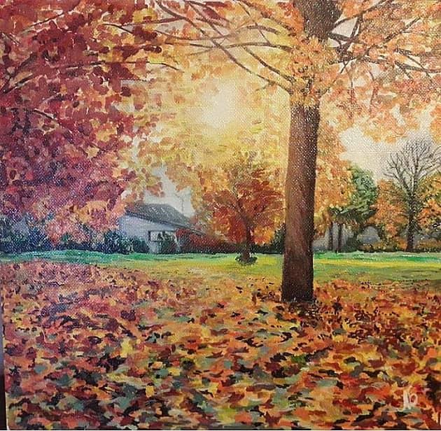 Оранжевая осень.