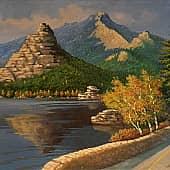 Осенняя позолота. Боровое, художник Геннадий Литвиненко