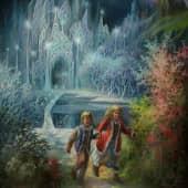 Иллюстрация к сказке (1), художник Юрий Горбачев