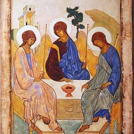 Андрей Рублев. Троица