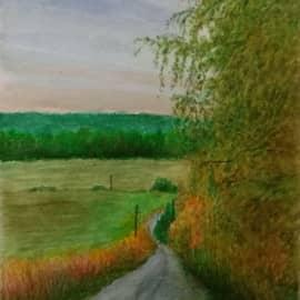 Дорога в Переделкино