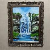 Водопад (2), художник Ольга Шибанова