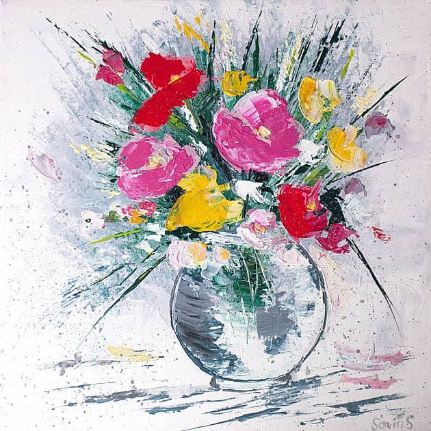 Цветы в вазе Nr2