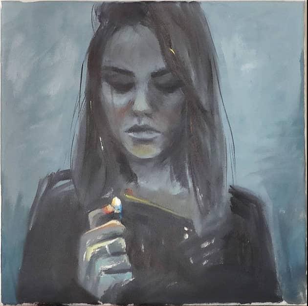 Девочка с зажигалкой