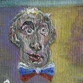 Продавец масок (1), художник Анатолий К.