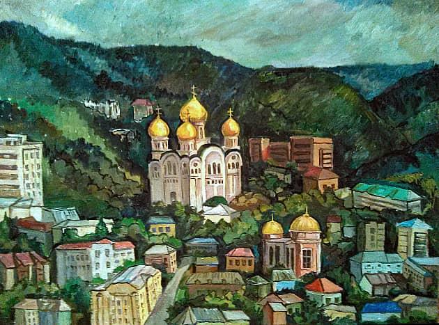 Вид на Кисловодск
