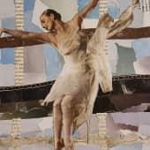 Балерина (2), художник Dey4i Kurihara
