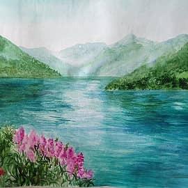 Горное озеро