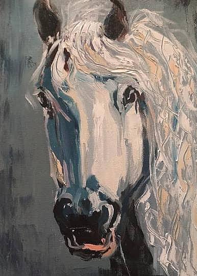 белая лошадь Мечта