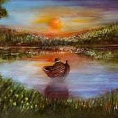Рыбалка, художник Kerry Moore