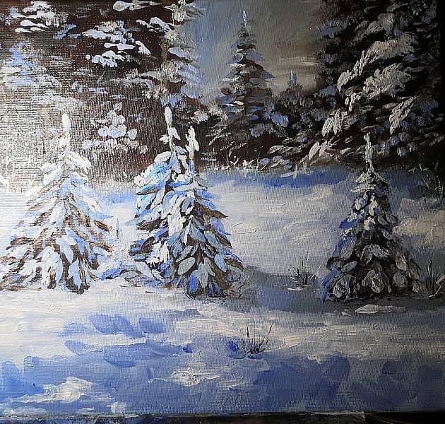 Снежные елки