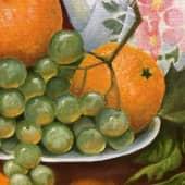 Чай с апельсинами (3), художник Ольга Шибанова