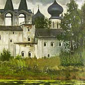 Тихвинский монастырь, художник Александр