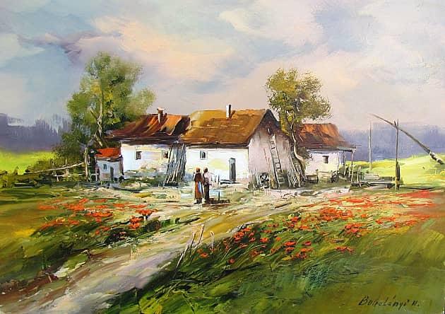 Венгерский деревенский дом