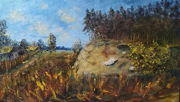 Дачный пейзаж