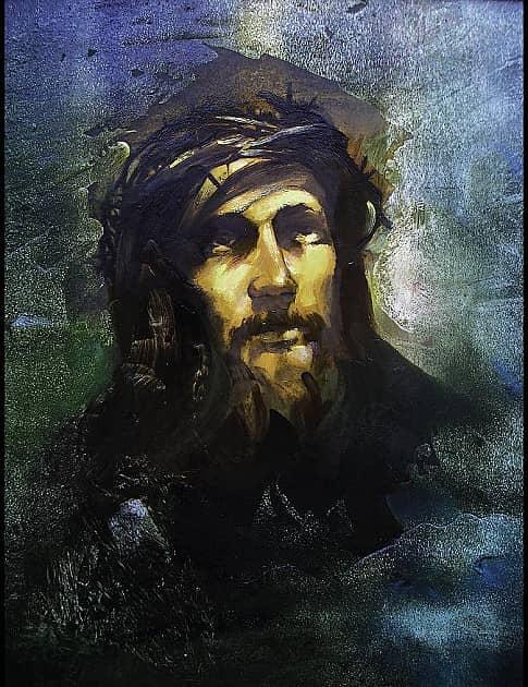 Иисус (этюд)