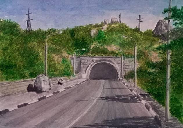Дорога Севастополь - Ялта