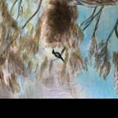 По мотивам Рубенса Петера Пауля Младенец Христос и Иоанн Креститель (6), художник Елена