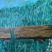 У реки (3), художник Елена