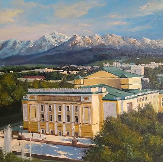 Родной город Алма-ата