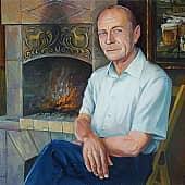 Портрет В. Касинова, художник Геннадий Литвиненко