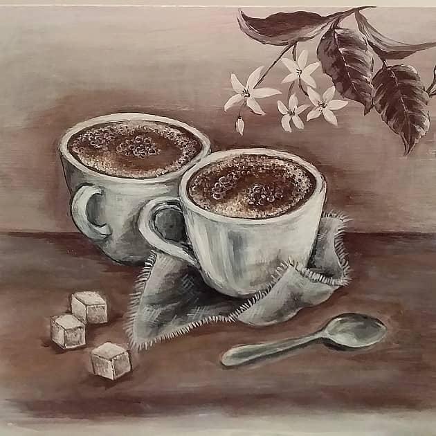 Кофе с подругой