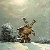 Безмятежность, художник Геннадий Литвиненко
