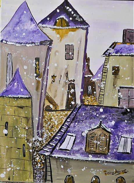 Первый Снег в Старом Городе