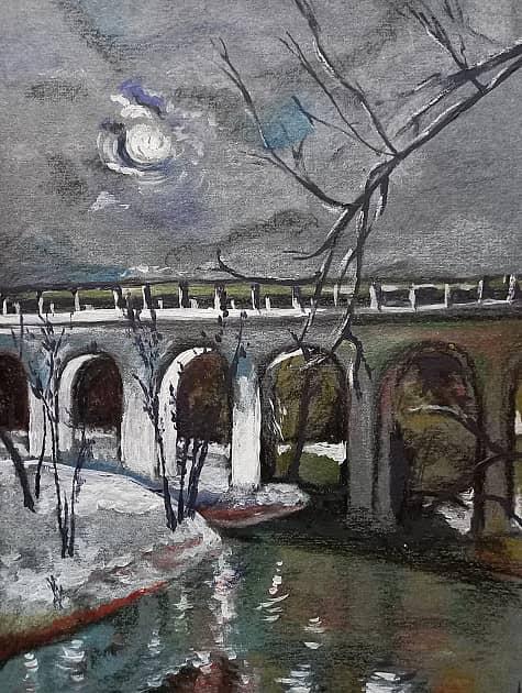 Луна над акведуком