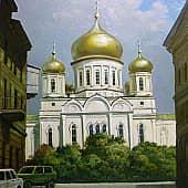 Храм Димитрия Ростовского, художник Геннадий Литвиненко