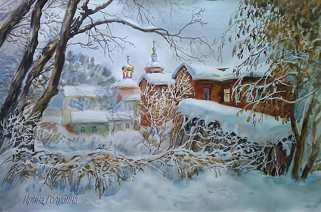 Под покрывалом зимы