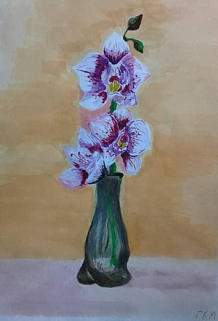 Орхидеи (эскиз)