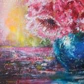 Пушистые цветы (2), художник Kerry Moore