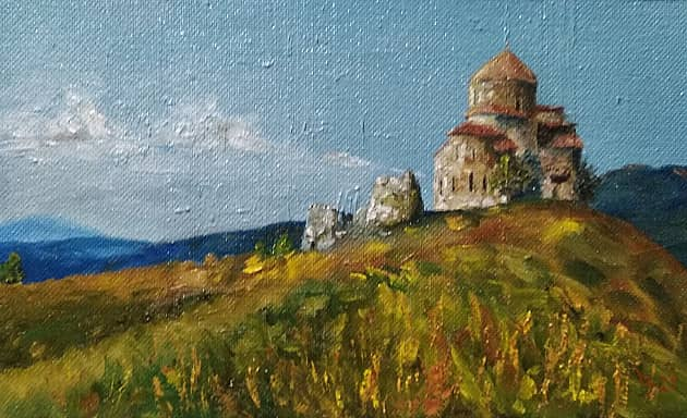 Мцхета, монастырь Джвари Vl в