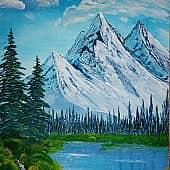горы мечты, художник Steva