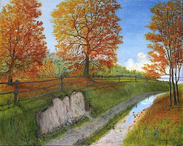 Дорога к реке