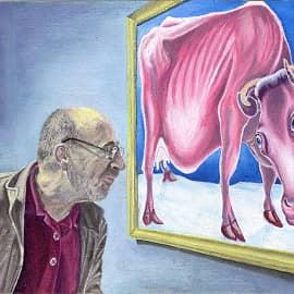 В галерее современного искусства