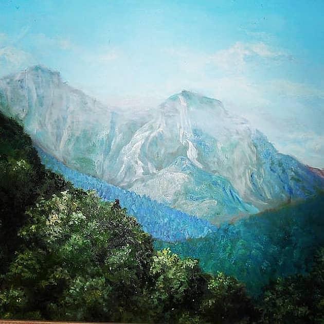 Кавказ. Серебряная гора