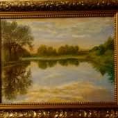 Река Протва (1), художник Константин Гуков