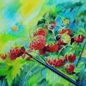 Сладкие ягоды (1), художник Елена Свирина