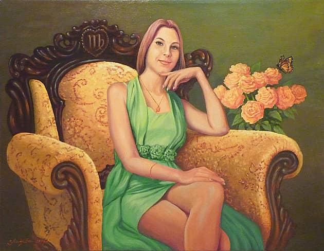 Портрет Е. Касиновой