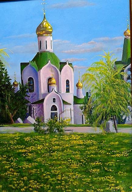 """""""Церковь Александра Невского"""" в моём г.Знаменск"""