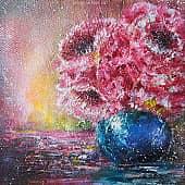 Пушистые цветы, художник Kerry Moore