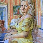 В старых традициях, художник Елена Свирина