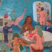 Подлодники у русалок после третьей термоядерной войны, когда женщины вымерли. (1), художник Леонид