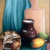 К ужину (1), художник Ольга Шибанова